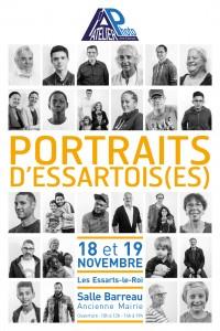 Affichette Portraits d'Essartois EXPO 2017-10