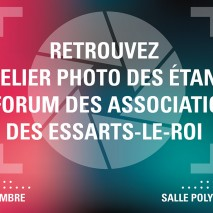 Rencontrez l'atelier photo au forum des associations